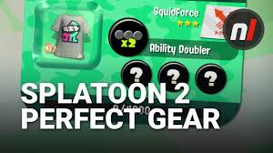 Clothing Advice Perfect Gear For by How To Get Perfect Gear In Splatoon 2 On Switch Splatoon 2