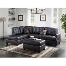 Faux Leather Sectional Sofa With Chaise Sectional Couches Faux Leather Sears