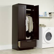 Storage Closet Homeplus Wardrobe Storage Cabinet 411312 Sauder