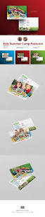 kids summer camp postcard by aam360 graphicriver