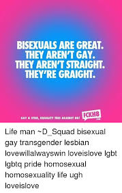 Bisexual Memes - bisexuals are great they aren t gay they aren t straight they re