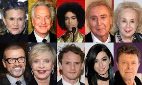 dead musicians and actors 2016 in remembrance celebrity deaths in 2016 2016 year end recap rip