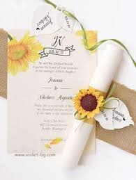 sunflower wedding invitations rustic sunflower burlap and lace wedding invitation stationery