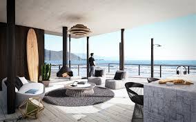 modern beach house interior home