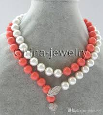 pink coloured beads necklace images Pink coral color peach pink color gel base color coral pink coral jpg