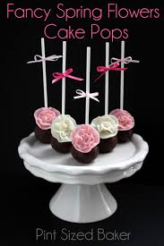 flower fondant cakes spring has sprung cake pop group post pint sized baker