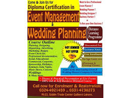 Wedding Planner Certification Diploma Certification In Event Management U0026 Wedding Planning