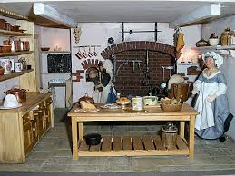 dolls house kitchen furniture georgian dollhouse kitchen no aga at last georgian