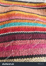 colorful african peruvian rug textile more stock photo 110027600
