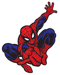 spiderman clipart vector pencil color spiderman clipart