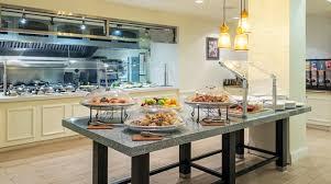 Grand America Breakfast Buffet by Hilton Garden Inn Orlando Hotel Near Seaworld