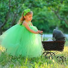 green tutu girls green dress for girls polka dot dress flower