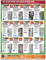 black friday sale for home depot home depot black friday appliance ad