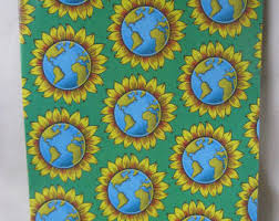 sunflower wrapping paper sunflower gift wrap etsy