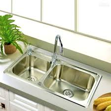 bathroom extraordinary top mount kitchen stainless steel sink
