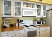 LowCost DIY Ways To Give Your Kitchen Cabinets A Makeover - Kitchen cabinets makeover