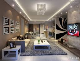 2013 new living room ceiling decoration effect pictures 2017