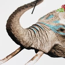 colonial beauty elephant johnathan reiner print club london