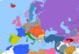 map or europe united states enters the war historical atlas of europe 6 april