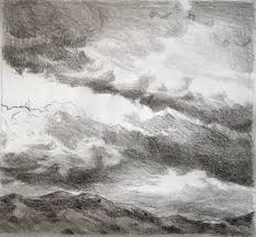 pencil drawing clouds drawing clouds with pencil pencil sketch