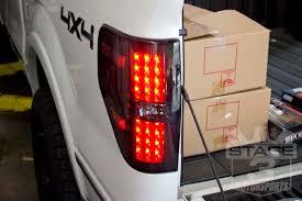 Ford Pickup Raptor 2010 - 2009 2014 f150 raptor recon led tail lights smoked 264168bk