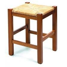 tabouret de cuisine tabouret de cuisine en bois 45cm rustica