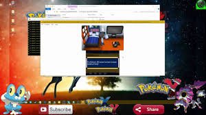 how to play pokemon x and y on pc download link and save file