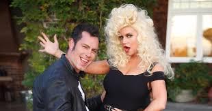 Simpson Halloween Costumes Jessica Simpson Eric Johnson Channel U0027grease U0027 Halloween