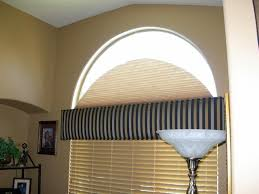 half moon window treatments covering ideas half moon window