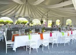 wedding table arrangements our wedding table decor flowers the borrowed abodethe borrowed