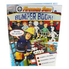 fireman sam bumper activity book activity packs works
