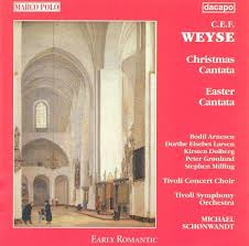 easter cantatas for small choirs c e f weyse christmas cantata easter cantata michael schønwandt
