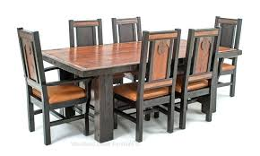 dining room table rustic western dining room sets custom made ranch table rustic western