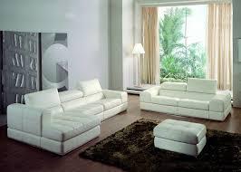 m canapé salon complet andrea en cuir canapé 3 places avec chaise longue