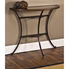 half circle accent table half tables accent tables walmart half round accent table iron wood