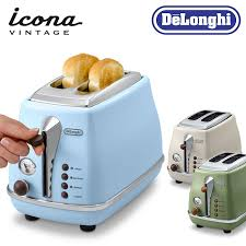 Toasters Delonghi Smart Kitchen Rakuten Global Market Delonghi Icon And Vintage