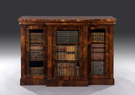 Break Front Cabinet George Iv Regency Rosewood Three Door Breakfront Cabinet C 1830