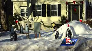 briers home decor family hoping for return of stolen yard penguins youtube