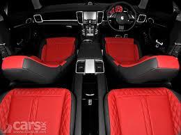 Porsche Panamera Red Interior - porsche panamera wide body project kahn cars uk