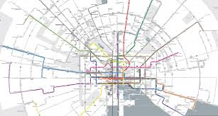 Baltimore City Map Baltimore U0027s New Bus System Comes With A Snazzy New Map News