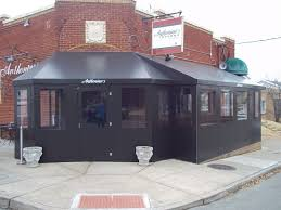 Temporary Patio Enclosure Winter by Seasonal Enclosures U0026 Vestibules St Louis Commercial Tents