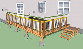 how to build a deck nz building deck railing plans new decoration building deck