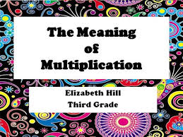 what is multiplication the meaning of multiplication authorstream