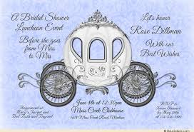 cinderella wedding invitations fairytale cinderella bridal shower invitation custom royal