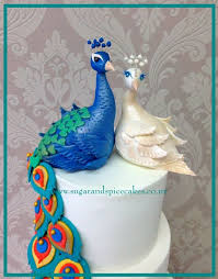 peacock wedding cake topper peacock wedding cake with cupcakes cake by