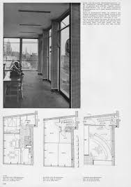 floor plan of an office bernhard pfau haus dörseln essen 1952 architecture