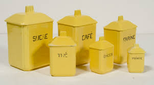 Canister For Kitchen by Yellow Kitchen Canisters Images Where To Buy Kitchen Of Dreams