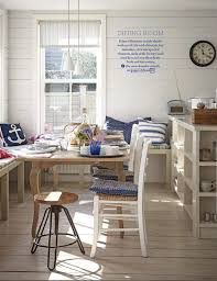 Country Dining Rooms by White And Blue Country Dining Room Interiors By Color