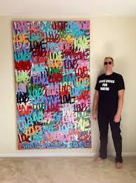 chris riggs original love modern spray painting street art