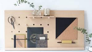 organiseur bureau do it yourself fabriquer un pegboard le rangement de bureau idéal